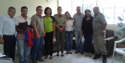 4º BPM realiza reunião para firmar parcerias em Projetos Sociais