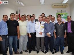 Tenente-Coronel Souza Neto recebe homenagem da Câmara de Vereadores de Guarabira, veja fotos