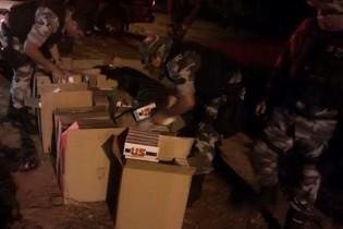 Polícia intercepta carga de cigarros contrabandeados no Sertão