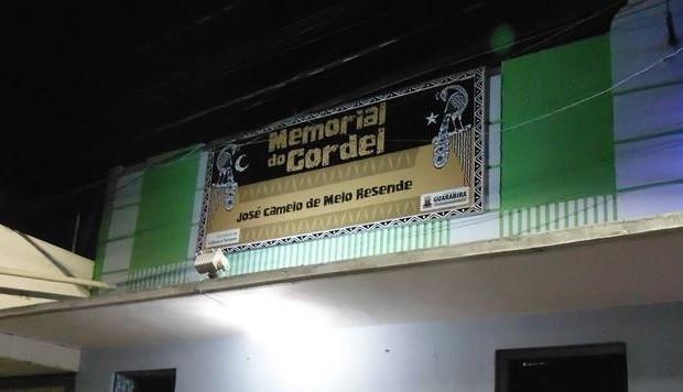 Memorial do Cordel é inaugurado em Guarabira