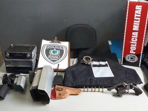 Na região: Polícia prende suspeito de roubar equipamentos de segurança