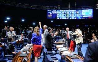 Senado aprova reforma política que proíbe doação de empresas nas campanhas
