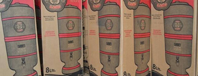 Governo do Estado distribui filtros d'água para famílias da zona rural