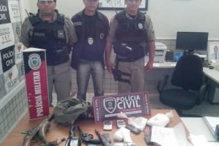Operação 'Guerreiro' na região de Guarabira prende acusados de envolvimento com roubo, tráfico e homicídio