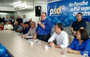 Vereadores de Campina Grande e prefeita de Pilões se filiam ao PSD