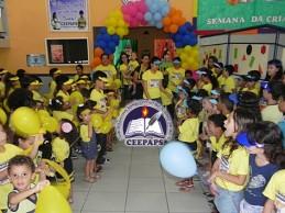 Colégio CEEPAPS: Segundo dia da Semana da Criança