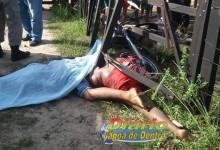 Motociclistas morrem entre Lagoa de Dentro e Duas Estradas