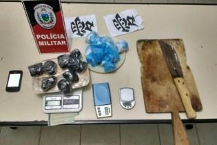 Polícia Militar prende casal suspeito de tráfico e apreende mais de 3 kg de cocaína e crack
