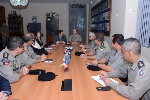 Polícia Militar e TRE-PB discutem segurança das eleições 2016