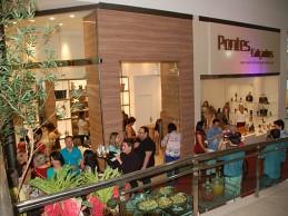 Nova loja Pontes Calçados é inaugurada no Shopping Cidade Luz, veja vídeo e fotos