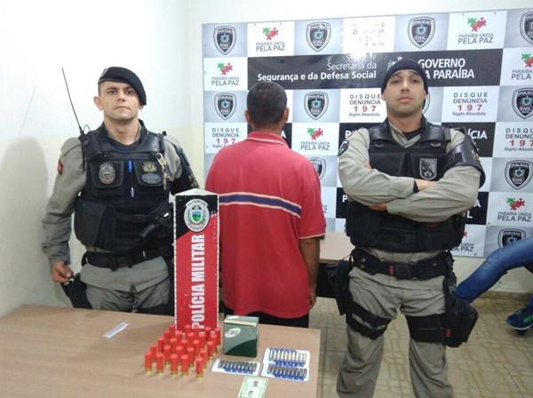 policia-prende-suspeito-com-arma-de-fogo-e-municao-em-mamanguape-2