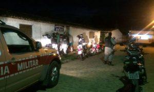 Policiais do 4º BPM realizam Operação Cidade Segura em Guarabira