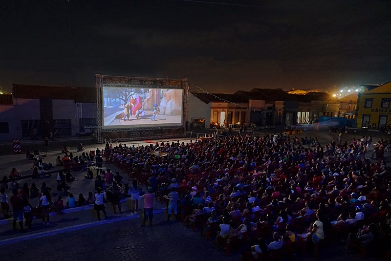 CineSesi na cidade de Taperoa-PB / Divulgação.